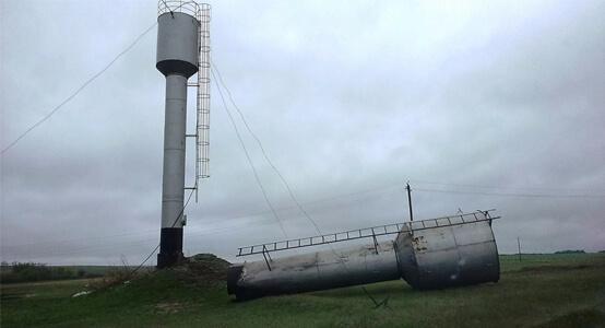 Изготовление и установка водонапорных башен Рожновского