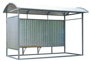 Остановочные павильоны из металла