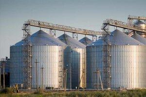 Производство металлических зернохранилищ