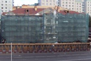 Реконструкция коробки здания