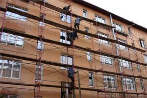 Реконструкция стен здания