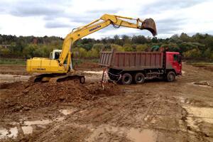 Вывоз грунта и строительного мусора