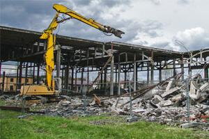 демонтаж железо-бетонных конструкций