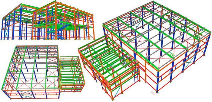 конструкторское бюро здание металлоконструкций