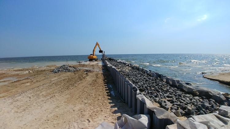 Реконструкция соединительного канала между Тилигульским лиманом и Чёрным морем