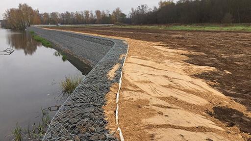 Проектирование и строительство берегозащитных сооружений